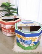 土多啤梨雪糕紙盒