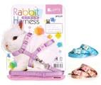 Jolly 兔子牽引帶 - 粉藍
